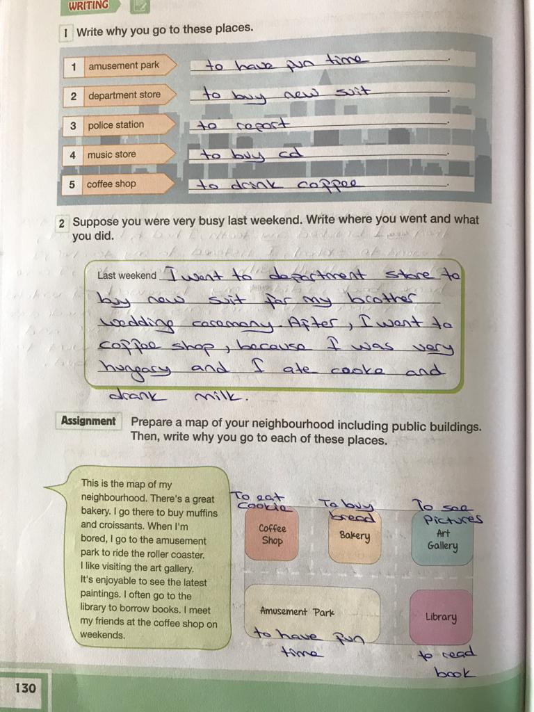 7. sınıf ingilizce bilim ve kültür yayınları cevapları sayfa 130