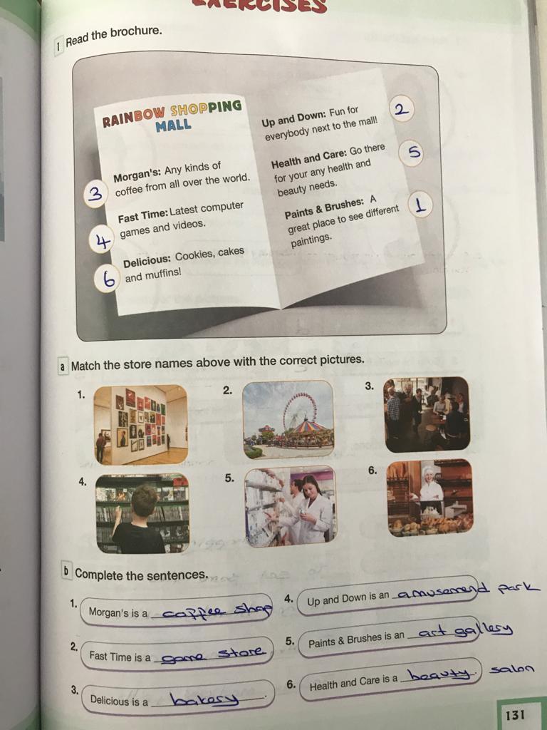 7. sınıf ingilizce bilim ve kültür yayınları cevapları sayfa 131