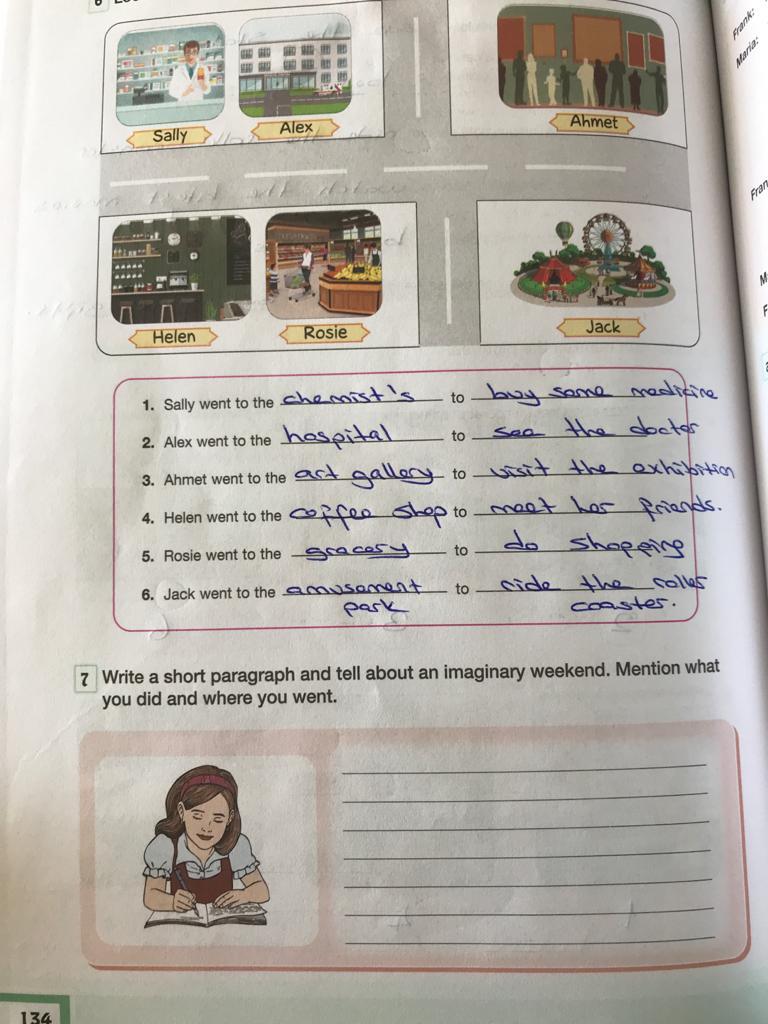 7. sınıf ingilizce bilim ve kültür yayınları cevapları sayfa 134