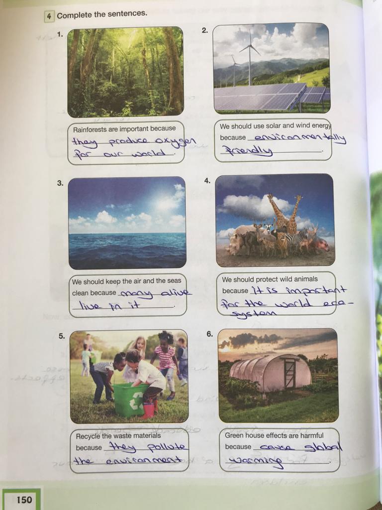 7. sınıf ingilizce bilim ve kültür yayınları cevapları sayfa 150